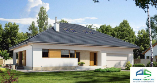 Типовой проект жилого дома E174