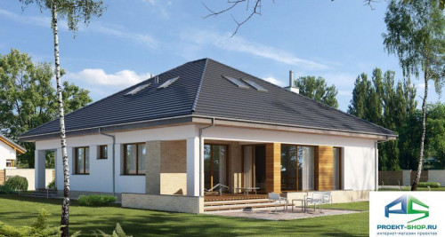 Типовой проект жилого дома E175