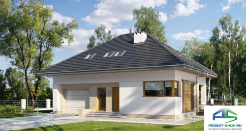Типовой проект жилого дома E177