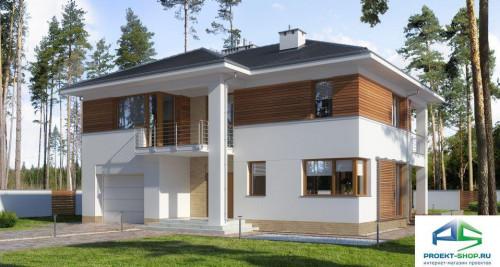 Типовой проект жилого дома E178