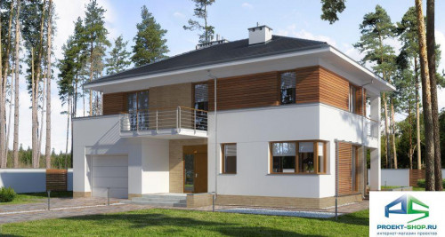 Типовой проект жилого дома E179