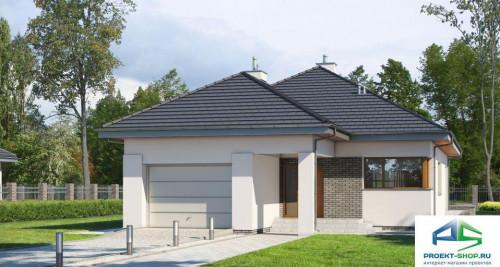 Типовой проект жилого дома E180
