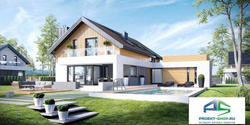 Типовой проект жилого дома K1
