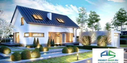 Типовой проект жилого дома k16