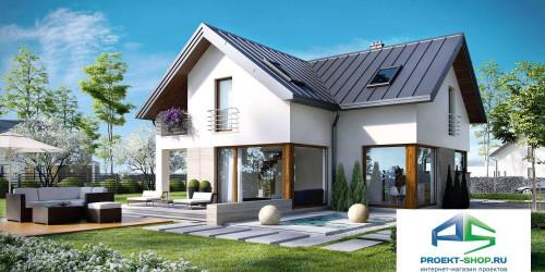 Типовой проект жилого дома k18