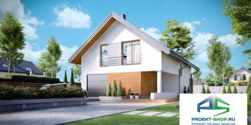 Типовой проект жилого дома k20