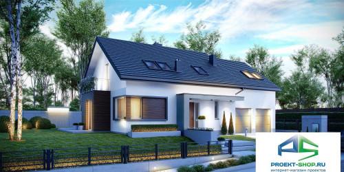 Типовой проект жилого дома k21