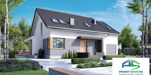 Типовой проект жилого дома k22