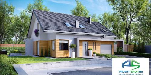 Типовой проект жилого дома k23
