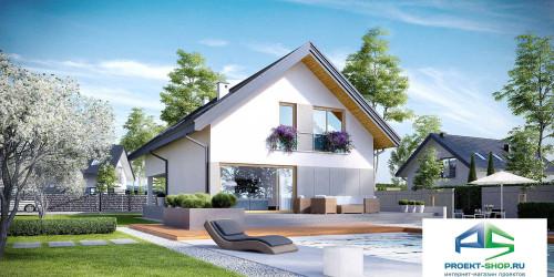 Типовой проект жилого дома k25