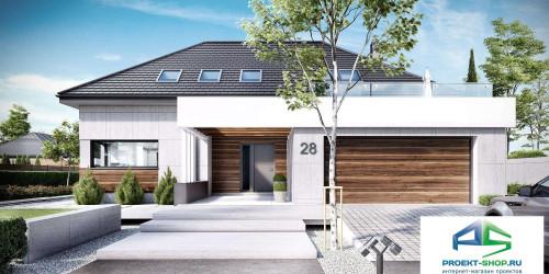 Типовой проект жилого дома k28