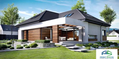Типовой проект жилого дома k33