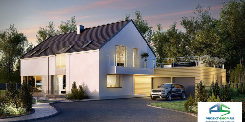 Типовой проект жилого дома k35