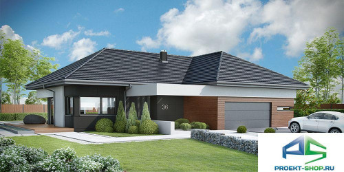 Типовой проект жилого дома k36