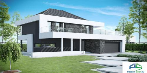 Типовой проект жилого дома k37