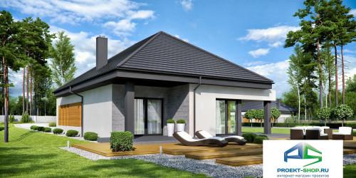 Типовой проект жилого дома k54