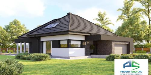 Типовой проект жилого дома k55
