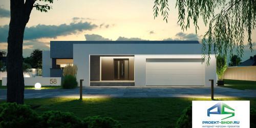 Типовой проект жилого дома k58