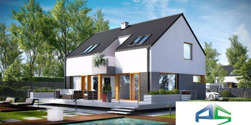 Типовой проект жилого дома k6