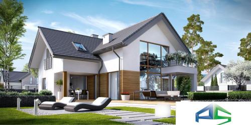 Типовой проект жилого дома k8