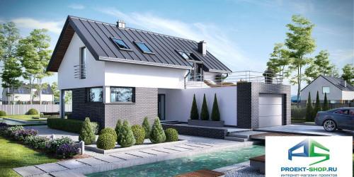 Типовой проект жилого дома k9