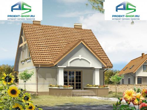 Типовой проект жилого дома 1-04