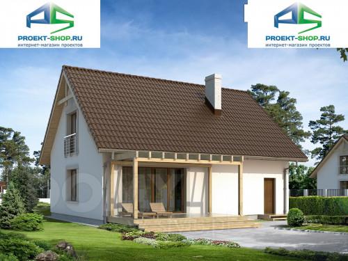 Типовой проект жилого дома 1-05