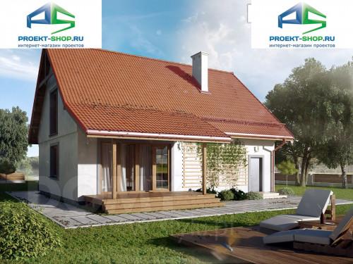 Типовой проект жилого дома 1-06