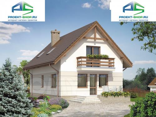 Типовой проект жилого дома 1-07
