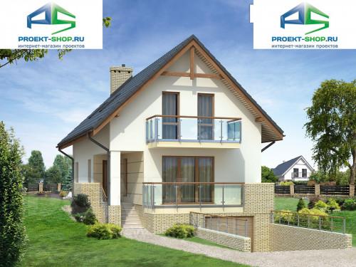 Проект дома 1-08