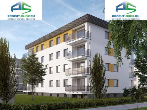 Типовой проект жилого дома 1-11