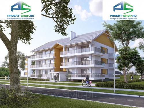 Типовой проект жилого дома 1-12
