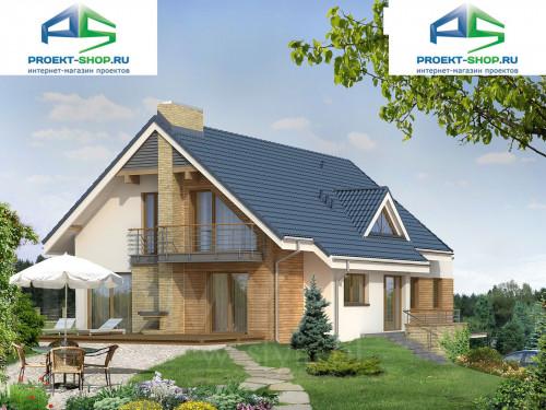 Типовой проект жилого дома на две семьи 1-54