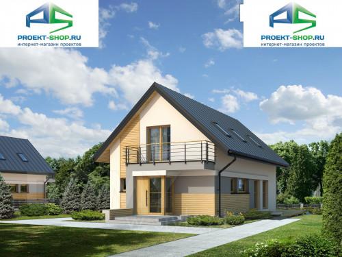 Проект дома 1-72