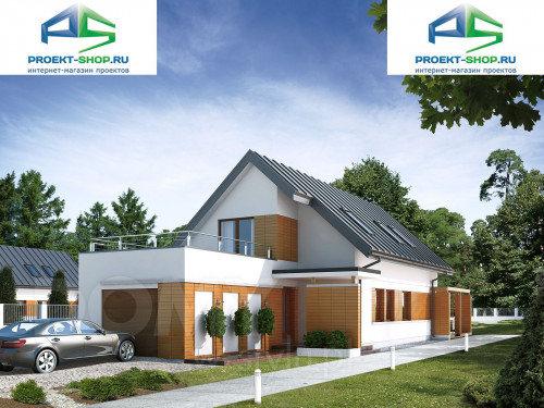 Проект дома 1-74