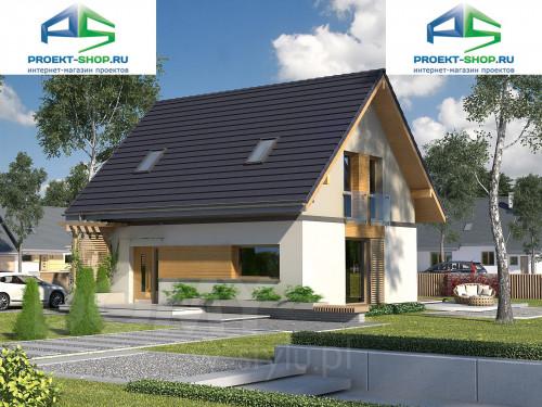 Проект дома 1-77