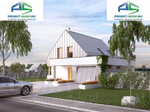 Проект дома 1-86