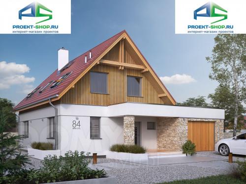 Проект дома 1-87