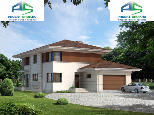 Проект дома 1-90