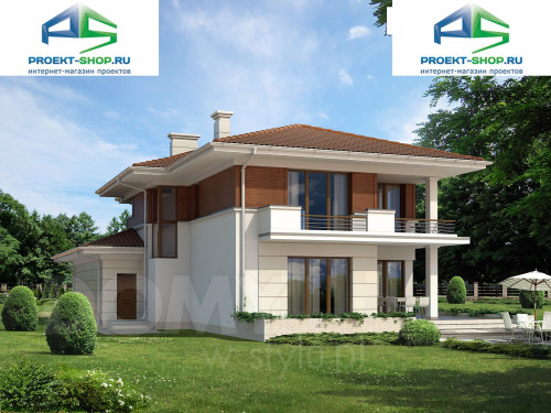 Типовой проект жилого дома 1-90