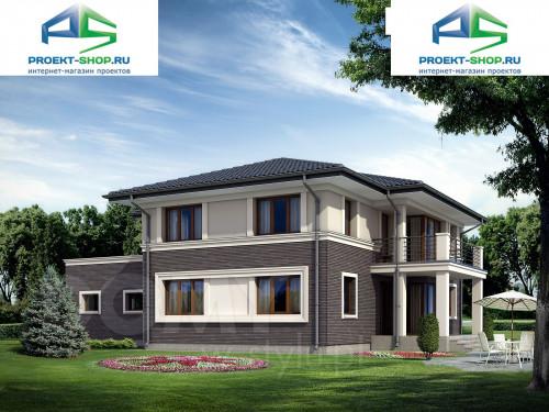 Типовой проект жилого дома на две семьи 1-108