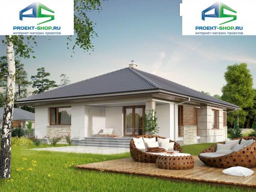 Типовой проект жилого дома 1-120