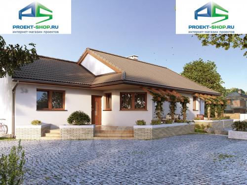 Типовой проект жилого дома на две семьи 1-127