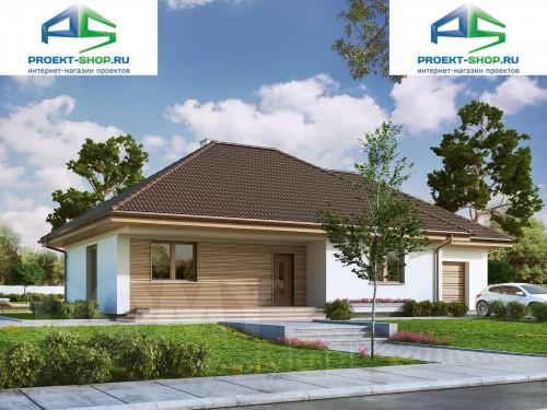 Проект дома 1-136