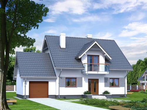 Проект дома 1-143