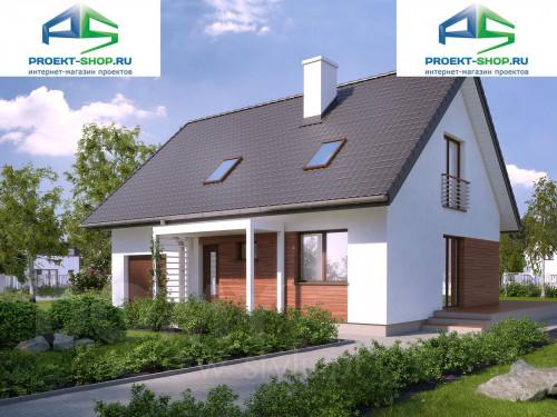 Проект дома 1-158