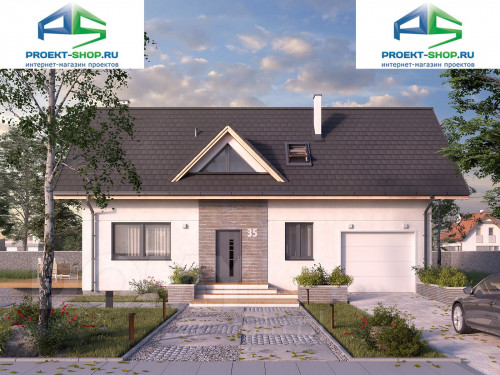 Проект дома 1-172
