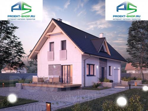 Типовой проект жилого дома 1-172