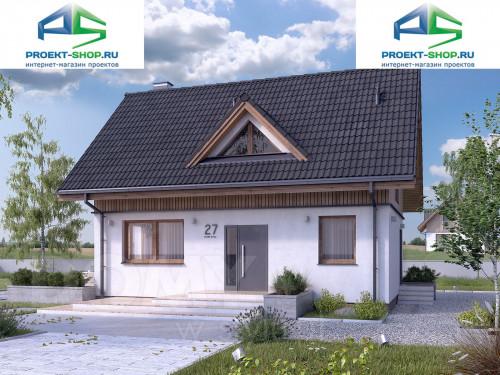Типовой проект жилого дома 1-173