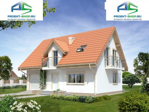 Типовой проект жилого дома 1-180
